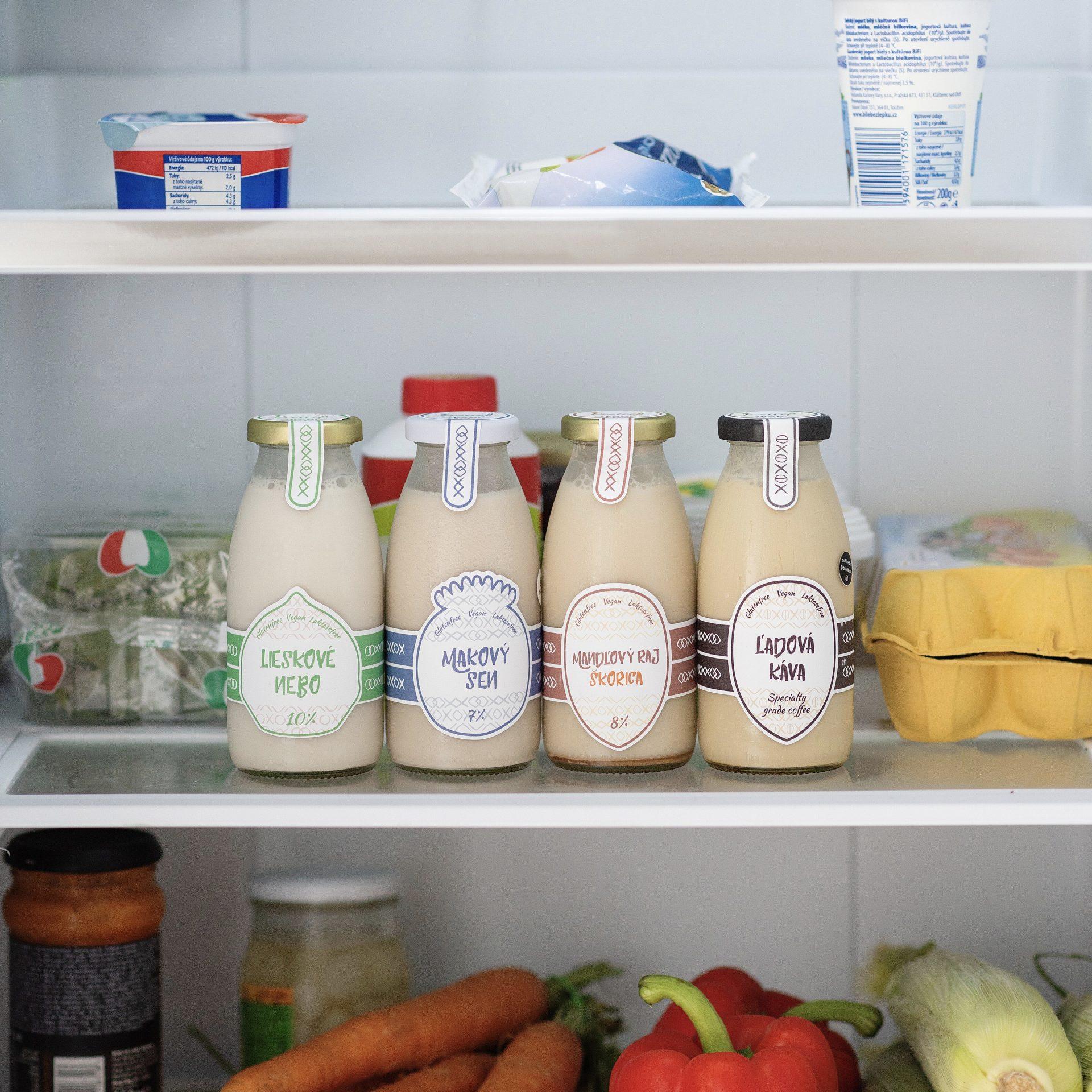 mandlove mlieko chladene nuttery