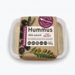 I love hummus čierne olivy